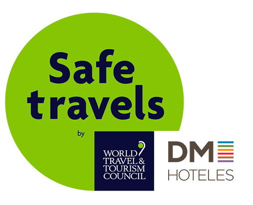 DM Hoteles - Logo-SafeTravels-DM